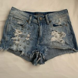 Kendall & Kylie High Waisted Shorts